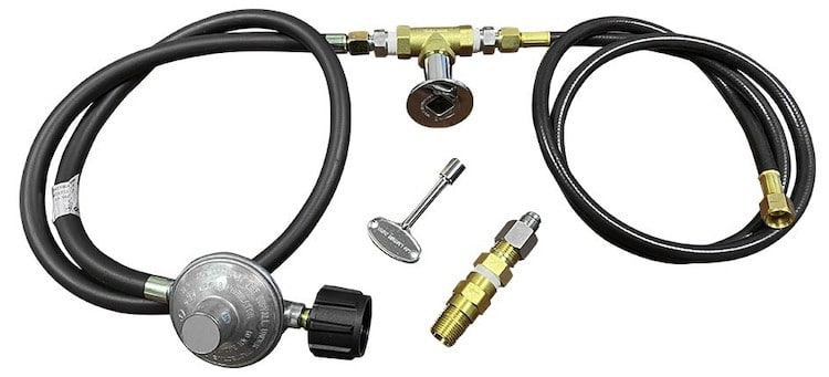 Propane Gas Connection Kit