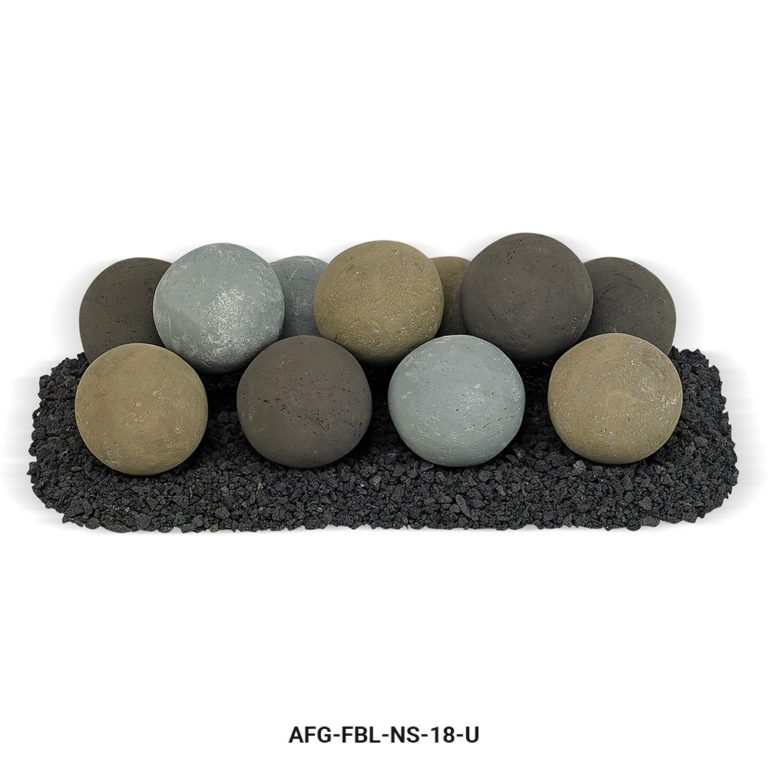 Natural Stone Fire Balls