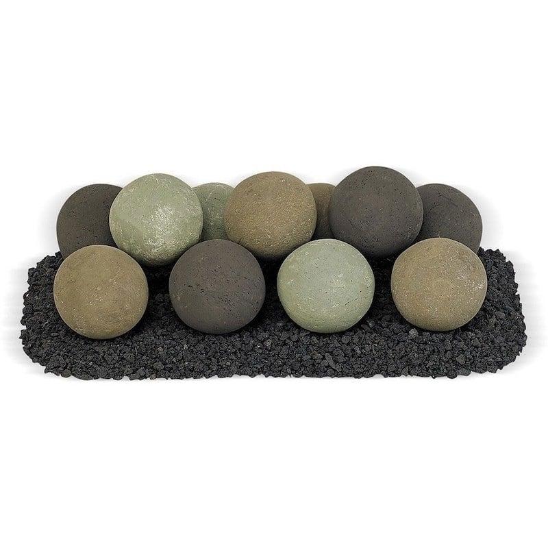 Natural Stone Lite Fire Ball Set
