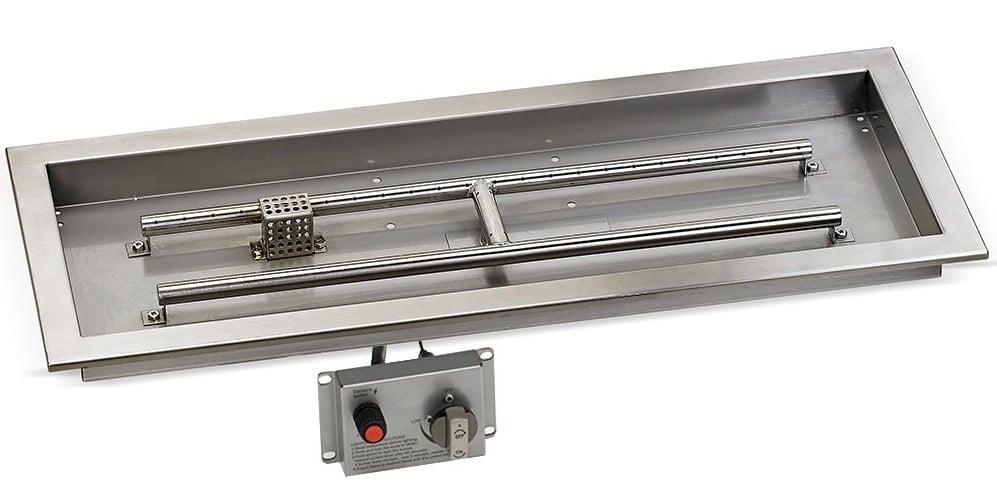 Rectangular Drop-In Pan with Flame Sensing Kit