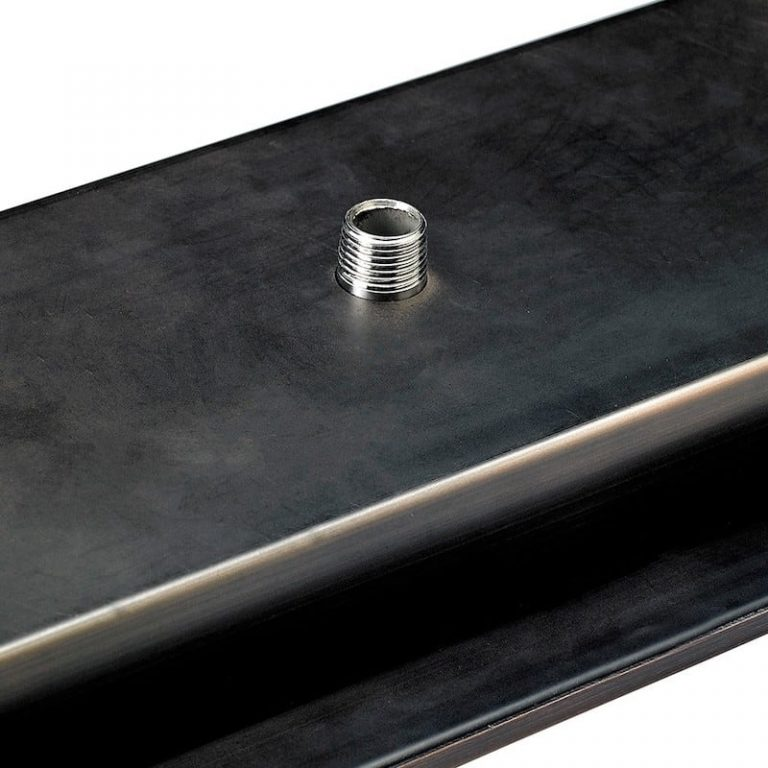 Rectangular Oil Rubbed Bronze Drop-In Pan with Spark Ignition Kit