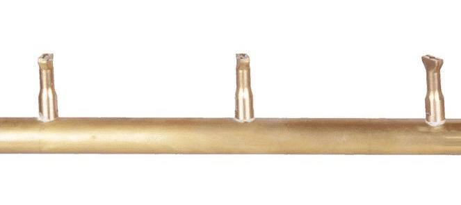 Linear Light Brass Bullet Burner Orifice