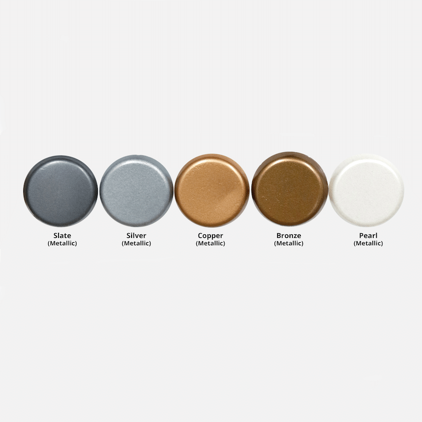 The Outdoor Plus Metallic Colors