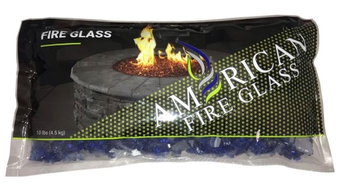 Classic Fire Glass 1/2 Inch Cobalt Blue