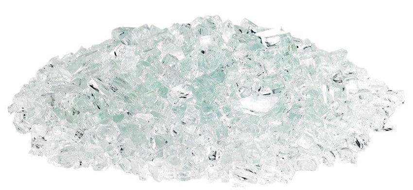 Classic Fire Glass 1/4 Inch Clear
