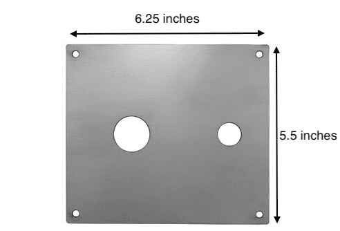 Mounting Plate Dimensions