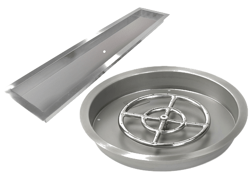 Fire Pit Kits Pans and Tray