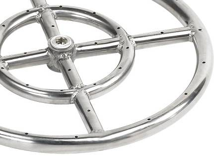 Typical Round Stainless Steel Burner