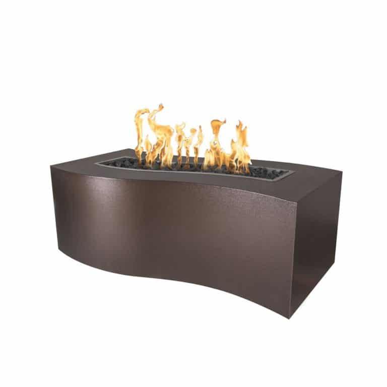 Billow Fire Pit - Copper Vein