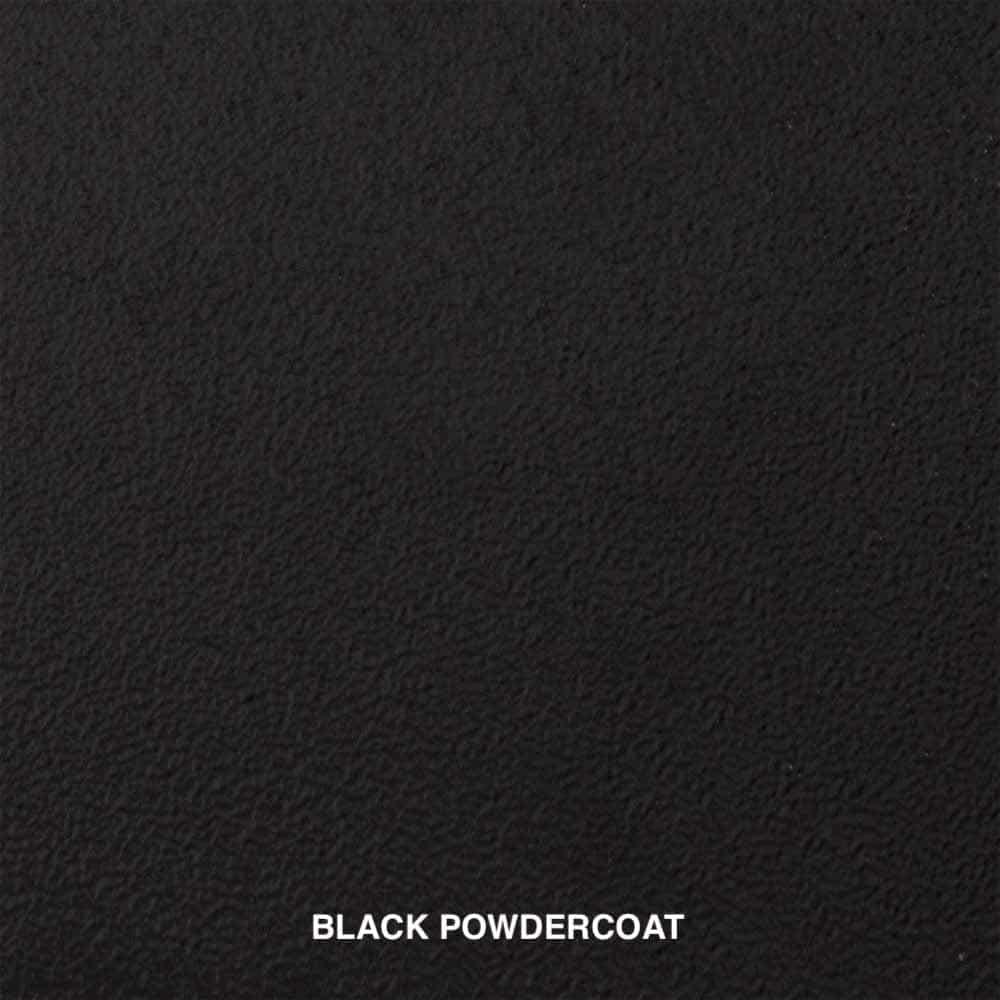 BLACK POWDERCOAT SWATCH