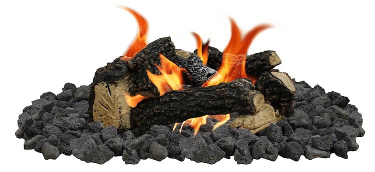 Beach Fire Log Set