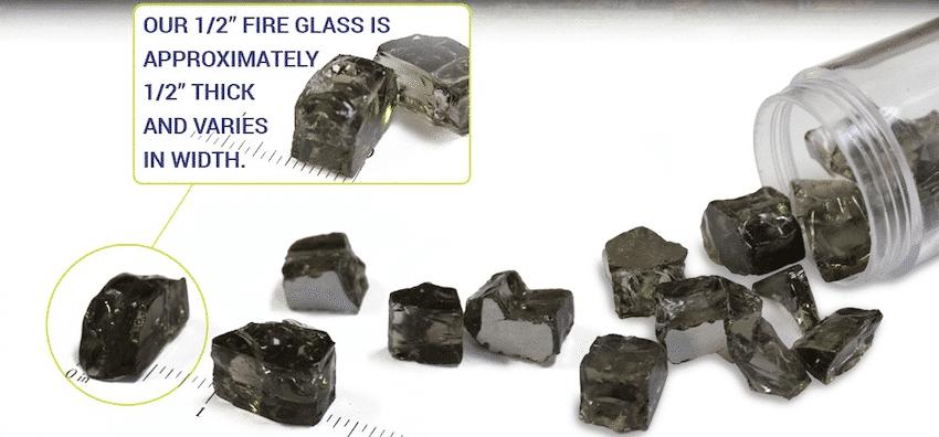 Half Inch Fire Glass Sizing