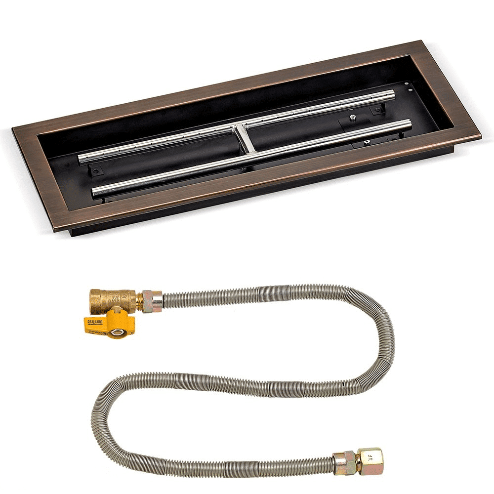 Rectangular Bronze Match Light Kit OB-AFPPMKIT