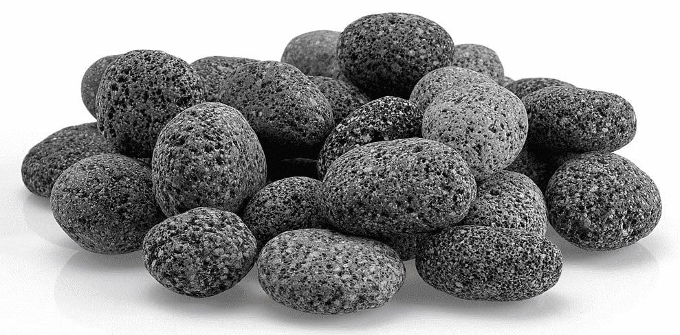 Tumbled Lava Stone Large