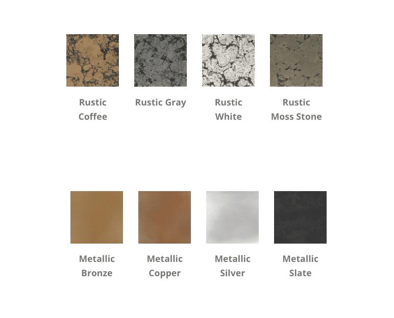 Sedona Fire Bowl Rustic and Metallic Colors