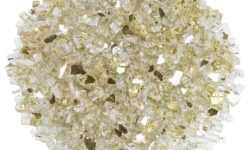 1/4 Inch Gold  Reflective Fire Glass - Fire Glass / American Fireglass