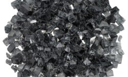 1/2 Inch Grey Reflective Fire Glass - Fire Glass / American Fireglass