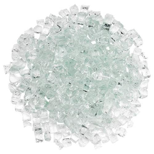 Classic Fire Glass 1/2 Inch Clear