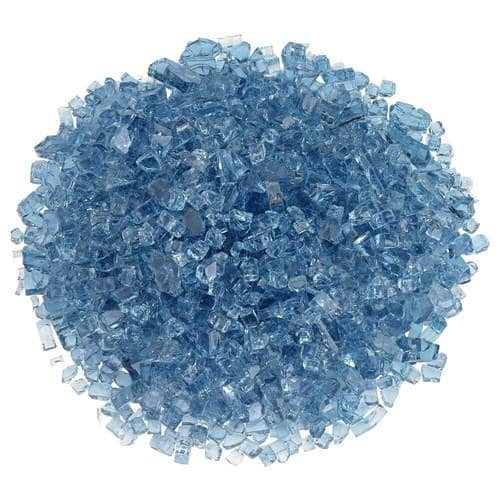 Classic Fire Glass 1/4 Inch Pacific Blue