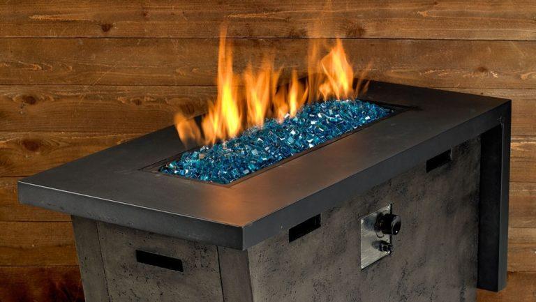 Classic Copper Fire Glass