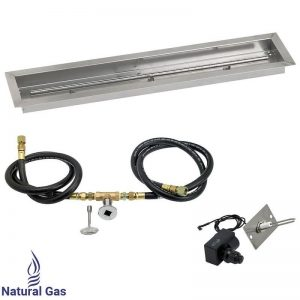Linear Drop-In Pan with Spark Ignition Kit