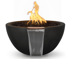 38 Inch Lunar Fire and Water Bowl