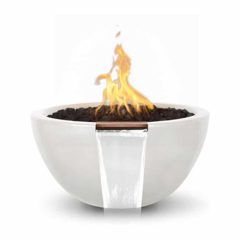 38 Inch Lunar Fire and Water Bowl OPT-LUNFW38