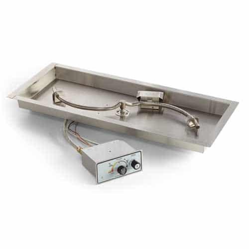 Rectangular S Fire Burner Insert Flame Sensing Kit