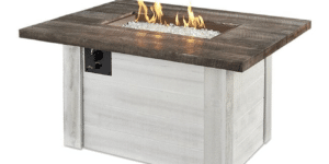 Alcott Rectangular Gas Fire Pit