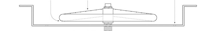 Raised Gas Hub Detail