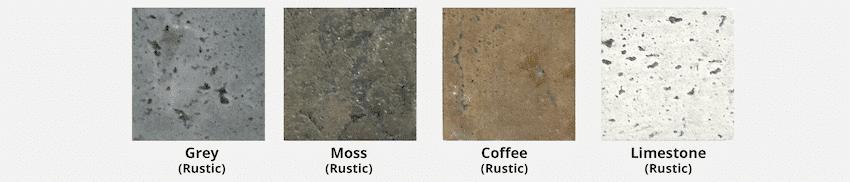 The Outdoor Plus GFRC Rustic Colors