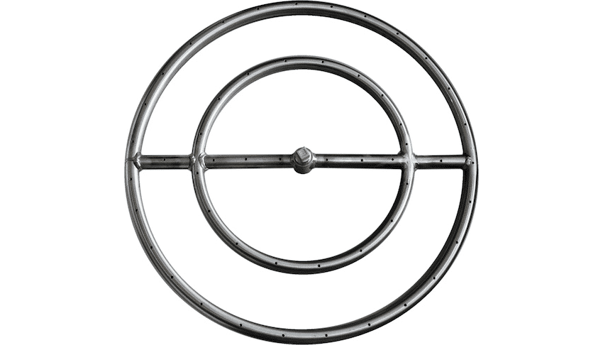The Outdoor Plus Round Gas Fire Pit Burner Ring