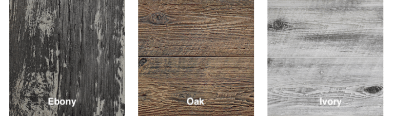 The Outdoor Plus Woodgrain Color Options