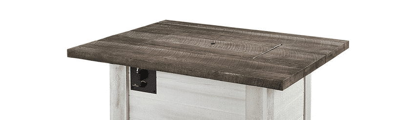 Alcott Fire Table with Cover