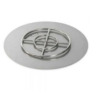 Round Flat Pan and Burner