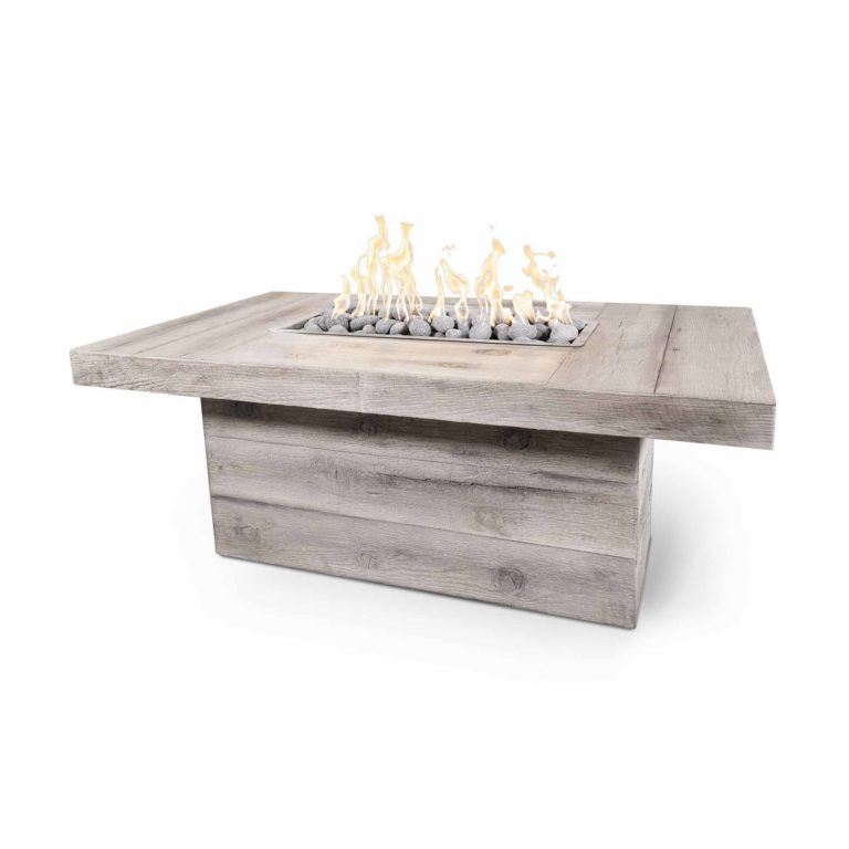 The Grove Woodgrain Fire Pit Table