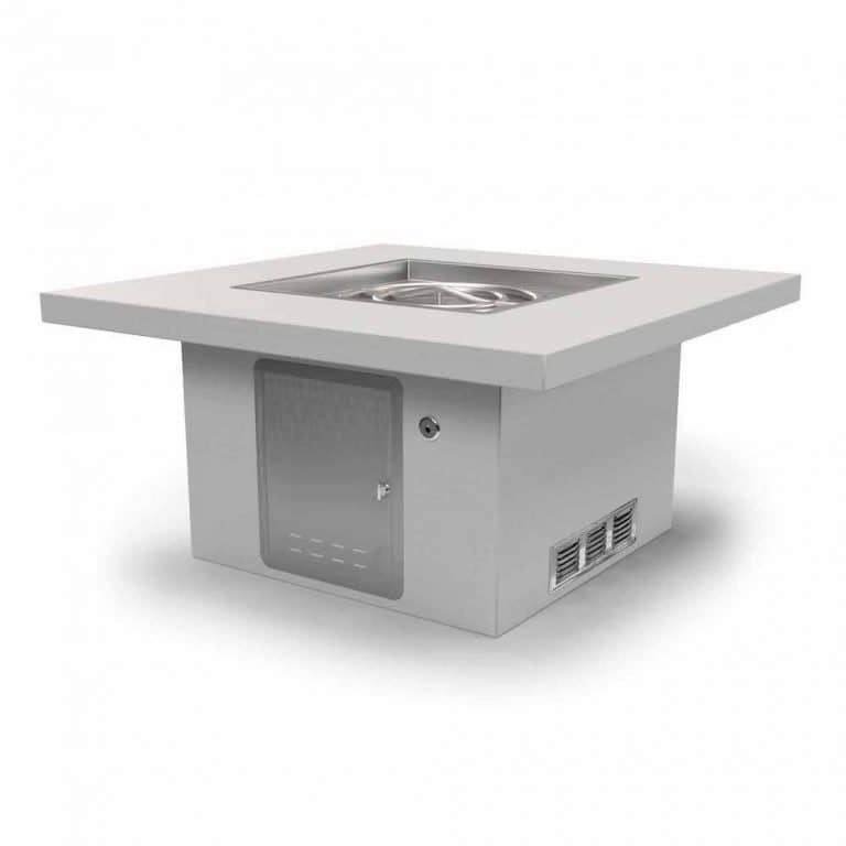 Square Table RTF with Door