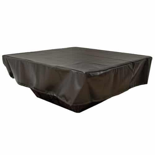 HPC Rectangular Fabric Fire Pit Cover