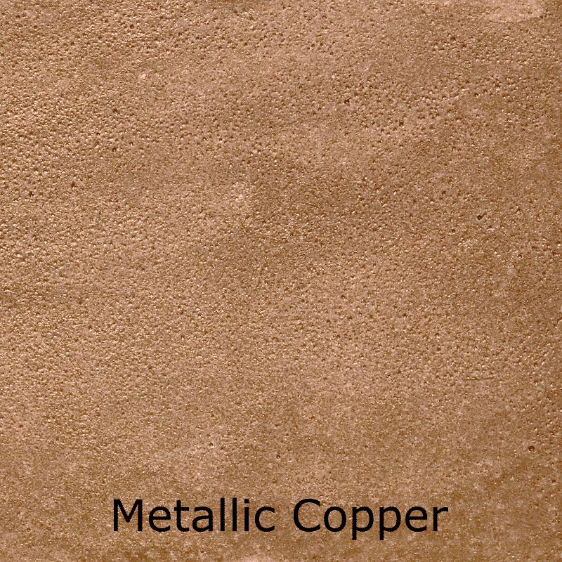 Metallic Copper Color Swatch