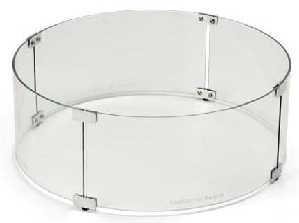 HPC Round 30 Inch Diameter Wind Guard For Fire Pits, WG-30RD