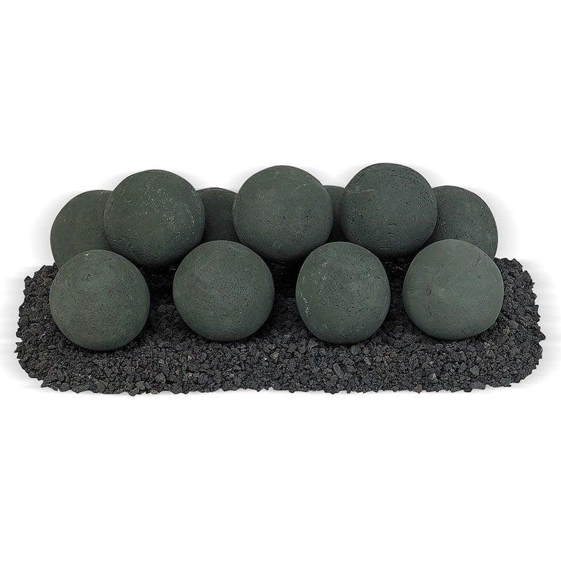 Matte Black Lite Stone Ball Set