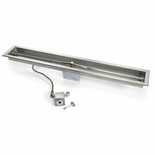 HPC Fire Linear Trough Insert MLFPK Match Light Fire Pit Kit