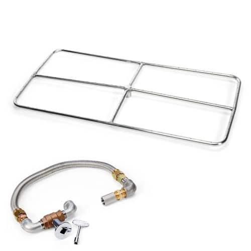 HPC Fire Rectangle Burner Kit FPSR