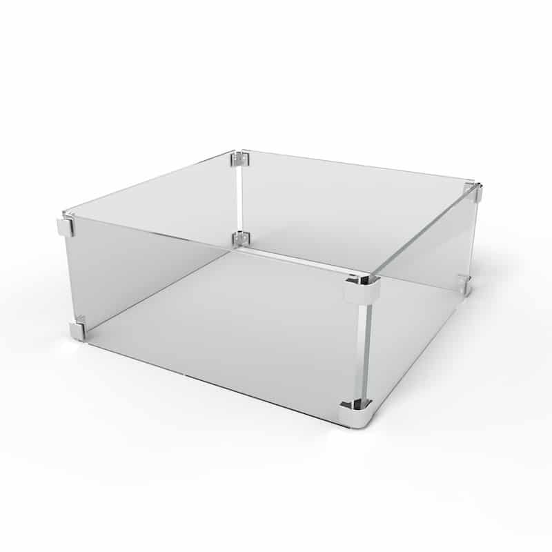 Square Fire Pit Wind Guard The Outdoor Plus