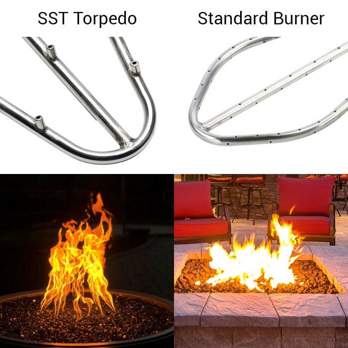 Torpedo versus Standard Burner