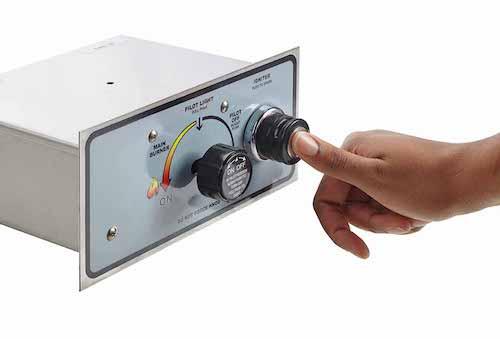 Push Button Flame Sensing Control Box