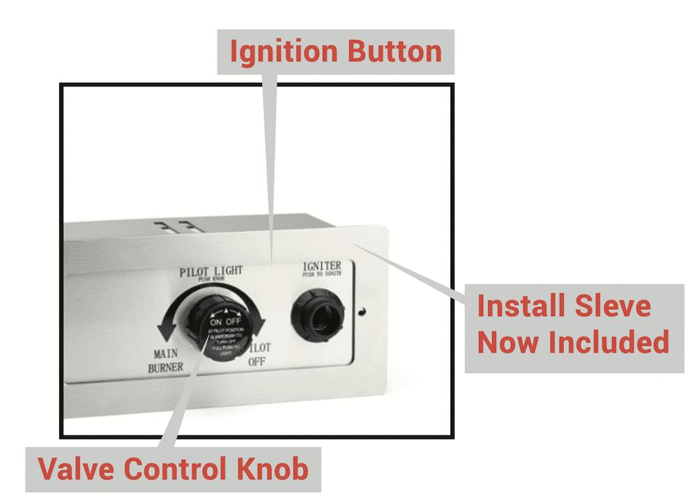 Control Box Installation Sleeve