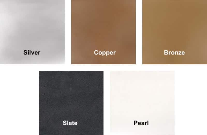 GFRC Metallic Colors