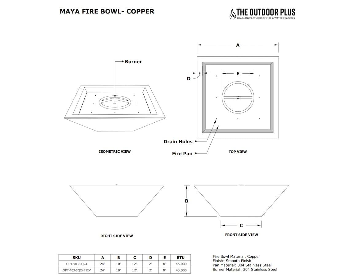 Maya Fire Bowl