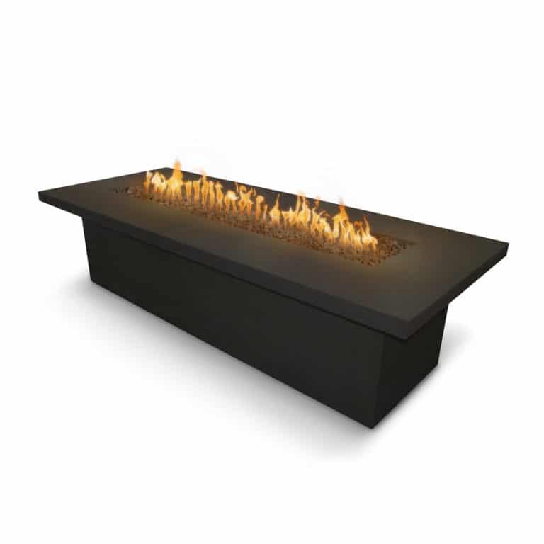Newport Fire Table Black